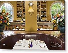 Restaurant Table Acrylic Print