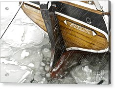 Resting In Ice Acrylic Print by Heiko Koehrer-Wagner