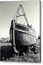 Retired Fishing Boat Acrylic Print by Sharon Lisa Clarke