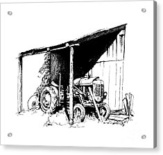 Replacement Pen And Ink Acrylic Print by Steve Orin