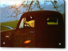 Retirement For An Old Truck Acrylic Print