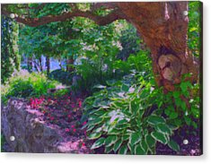 Return To The Secret Garden Acrylic Print