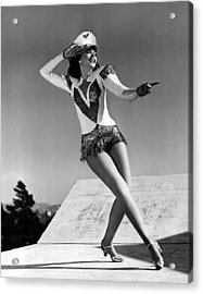 Reveille With Beverly, Ann Miller, 1943 Acrylic Print by Everett