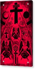 Revelation 666 Acrylic Print by Kenal Louis