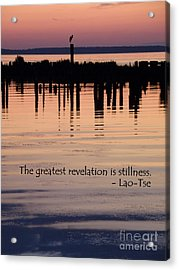 Acrylic Print featuring the photograph Revelation by Lainie Wrightson
