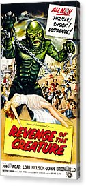 Revenge Of The Creature, As The Gill Acrylic Print by Everett