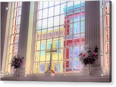 Reverence  Acrylic Print by Thomas  MacPherson Jr