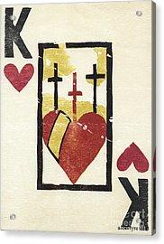 Reverse Religion Acrylic Print by Amanda McIntyre