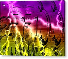 Revolution Acrylic Print by Beto Machado