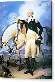 Revolution War Acrylic Print by Junior Vibert
