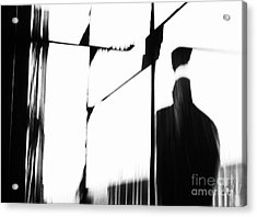 Revolving Doors Acrylic Print by Andy Prendy