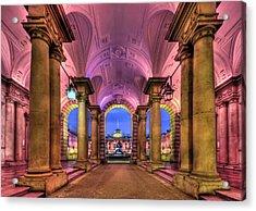 Rhapsody In Pink Acrylic Print by Evelina Kremsdorf