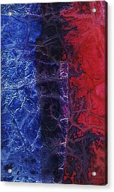 Rhapsody Of Colors 54 Acrylic Print by Elisabeth Witte