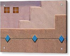 Rhombus Acrylic Print by Paul Wear