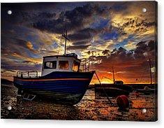 Rhos Sunrise Acrylic Print
