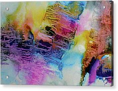 Acrylic Print featuring the painting Rhythm And Blues by Mary Sullivan