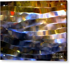 Acrylic Print featuring the digital art Ribbons Of Light by Dale   Ford