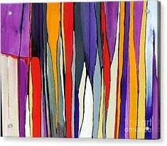 Ribbons Of Light Acrylic Print