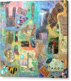 Rich Beyond Compare Acrylic Print by Jennifer Baird
