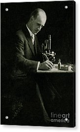 Richard C. Cabot, American Physician Acrylic Print by Science Source