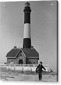 Richard Mahler, Is The Fire Island Acrylic Print by Everett