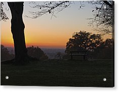 Richmond Sunset Acrylic Print