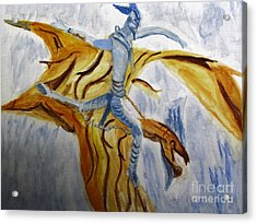 Ride Toruk The Dragon From Avatar Acrylic Print
