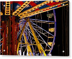 Acrylic Print featuring the photograph Rides by Michael Friedman