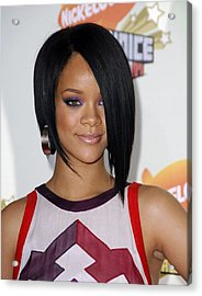 Rihanna At Arrivals For 2007 Acrylic Print by Everett