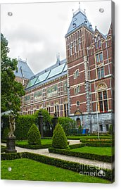 Rijksmuseum- 02 Acrylic Print by Gregory Dyer