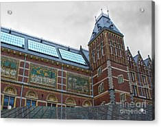 Rijksmuseum- 03 Acrylic Print by Gregory Dyer