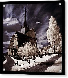 Ringebu, Norway. Stave Church. Taken Acrylic Print