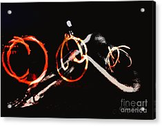 Acrylic Print featuring the photograph Burning Rings Of Fire by Clayton Bruster
