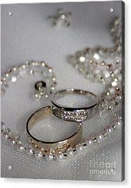 Rings Of Love Acrylic Print by Joanne Kocwin