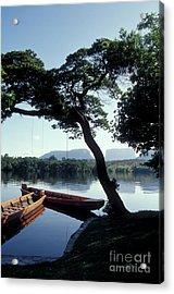 Acrylic Print featuring the photograph Rio Carrao Canaima Venezuela by John  Mitchell
