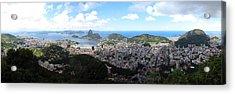 Rio De Janeiro Acrylic Print by Luis Esteves
