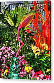 Riotous Color Acrylic Print by Chris Anderson