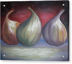 Ripening Figs Acrylic Print by Julliette Salter