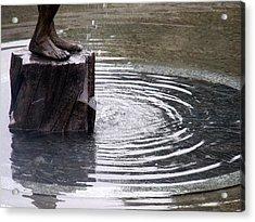 Ripple Feet Acrylic Print by Lee Versluis
