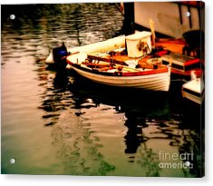 Ripples And Reflections Acrylic Print by Kevin Moore