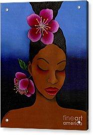 Rise And Outshine Acrylic Print by Mucha Kachidza