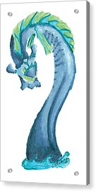 Rising Anguis Acrylic Print