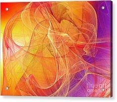 Rising Radiance Acrylic Print