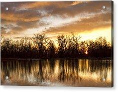 Rising Sun At Crane Hollow Acrylic Print by James BO  Insogna