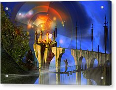 Acrylic Print featuring the digital art Rite Of Passage by Shadowlea Is