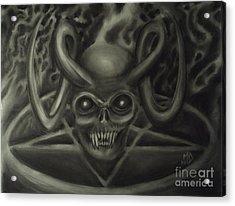 Ritual Acrylic Print by Matt Detmer