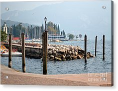 Acrylic Print featuring the photograph Riva Del Garda by Kathleen Pio