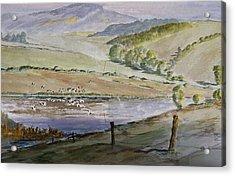 River Birds  Acrylic Print by Rob Hemphill