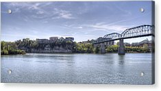 River Bluff Acrylic Print