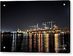 River City Acrylic Print by Eric Grissom